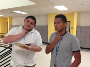 Students tested the effects of exercise on their heart rate
