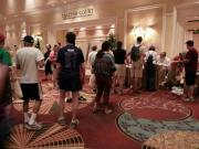 Look at all the registrants for the HAPS Poker Walk!