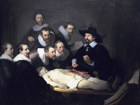 "Rembrandt's ""The Anatomy Lecture of Dr. Nicolaes Tulp"""