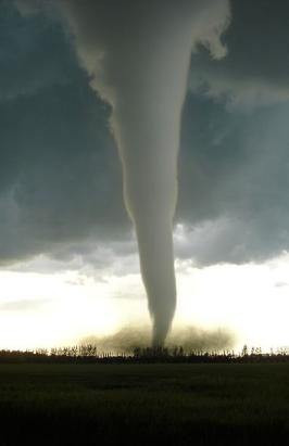 F5 Tornado entering Manitoba, Canada