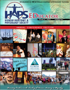 Members of HAPS have access to a peer-reviewed quarterly publication called the HAPS EDucator.