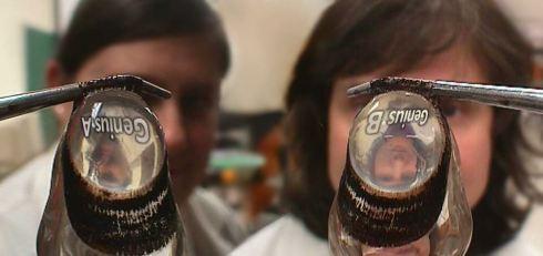 Lens refraction