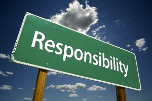 It is time to take responsibility.