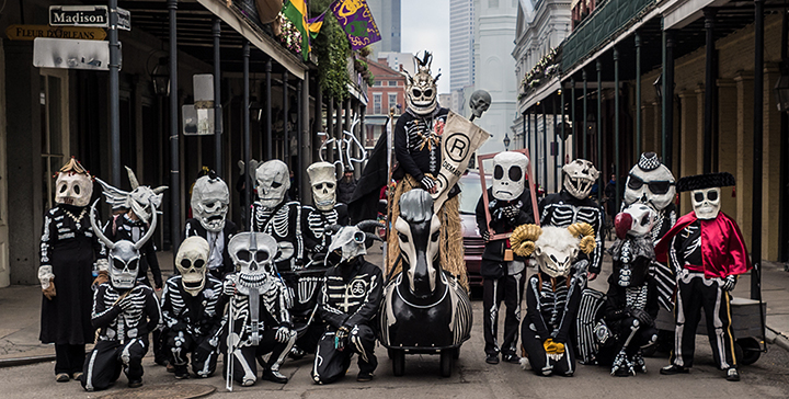 The skeleton Krewe (Kevin O'Mara- Flickr)