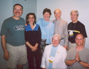 Old school HAPSters rockin' the annual conference in 2003.
