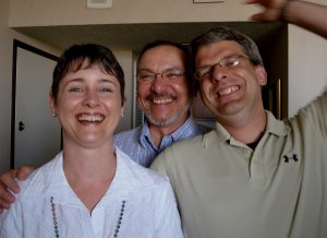 Perrotti and peeps in 2006