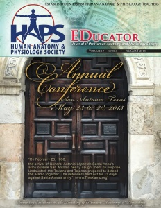 Check out the 2015 Conference Edition of the HAPS-EDucator.
