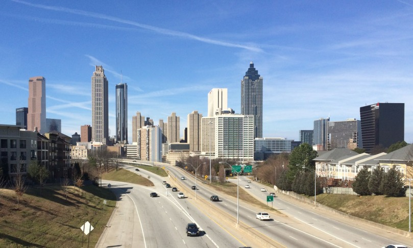 Enjoy the lovely Atlanta skyline while participating in the HAPS fun walk/run.