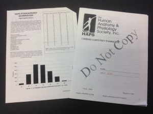 The HAPS Exam is now a computerized assessment.
