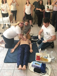 Student-interactive activities at the Public Higher Medical Professional School in Opole.